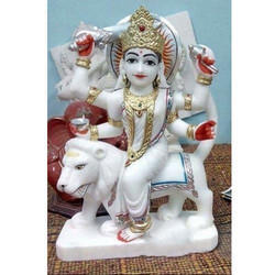 Jhande Wali Durga Marble Statues
