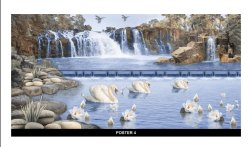 Ceramic Poster Tiles, Thickness: 8 - 10 mm