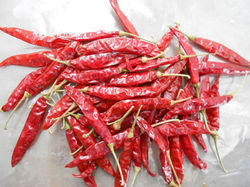 Red Chilly Whole With Stem