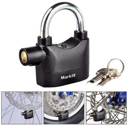 Anti Theft System Security Pad Lock with Burglar Smart Alarm Siren Motion Sensor