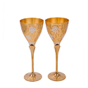 Royal Gold Plated Glass Set