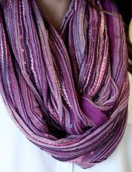 22 X 72 Inches Unisex Infinity Scarves By Shivam Arts Export