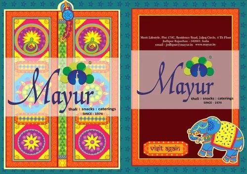 menu card designing services in mumbai मेनू कार्ड