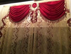 Fancy Silk Curtains