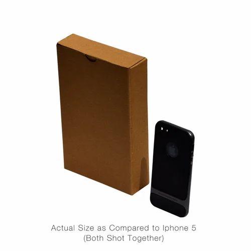 Mobile Accessories 5.15 x 1.40 x 7.85 Inches - 3 ply Corrugated Box White
