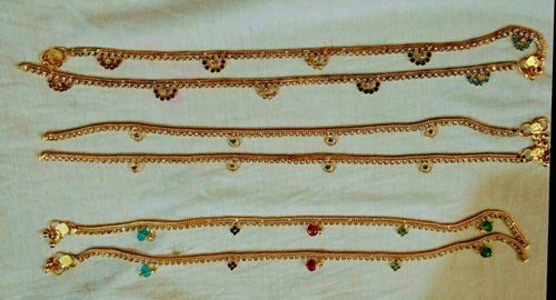 Silver and Gold Payal