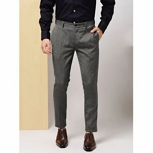 detailed look top style latest style Mens Formal Grey Paint