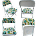 Folding Dining Chair With Cushion, Suitable For Restaurant, Banquet Hall, Food Parlors