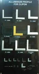 Aluminium Profile For Clip On Board P4