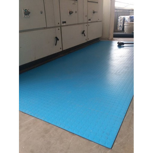 Vardhman Electrical Insulated Mats Is 15652 2006 आसमानी
