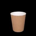 Detpak 8oz Ripple-Wrap Hot Cup
