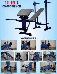 10in1 multi bench home exercise bench