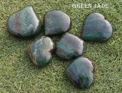 mix Natural Carved Puff Heart Pocket Stone,Healing Palm Crystal Pack