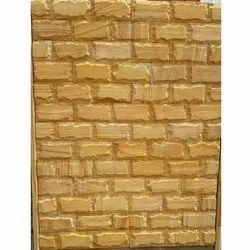 Gold Elevation Natural Stones, Thickness: 18 mm, Size: 6x24