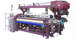 2 Hp Semi-Automatic Rapier Loom with Dobby