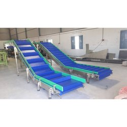 Modular Cleated Belt Conveyor