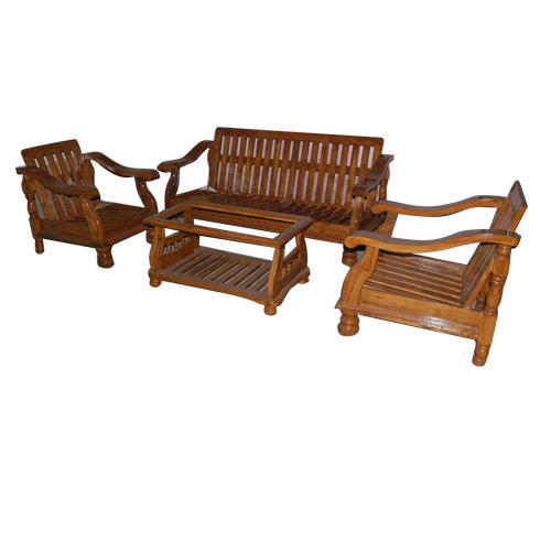 Z Model Wooden Sofa Set