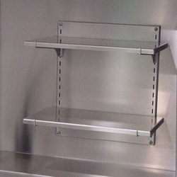 Wall Mounted Adjustable Shelves