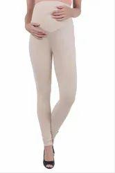 MomToBe Women's Skin Lycra Maternity Leggings, Size: Medium