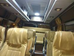 13 Seater AC Bus Tempo Traveler On Hire Rent From Mumbai.