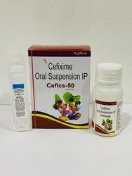 Cefics-50 Cefixime Oral Suspension IP