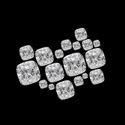 GH VVS  Cushion Moissanite Diamond Stone