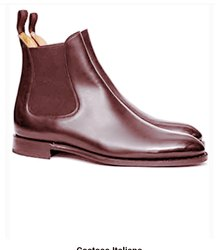 Men Brown Pure leather shoes, Size: 42-44