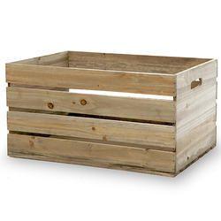 Rectangular 25-50 Kg Wooden Packing Crate