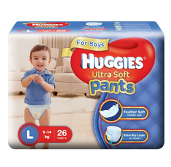 Huggies Ultra Soft Pants For Baby Boys