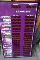 Currency Exchange Display Board