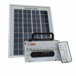 White MP3 Solar FM System