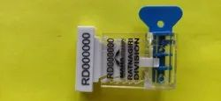 Polycarbonate Roto Seal, Model Name/Number: DSE-A-R-01, Size: 28.5mm X 21 Mm