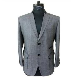 Regular Fit Cotton Formal Men Blazer