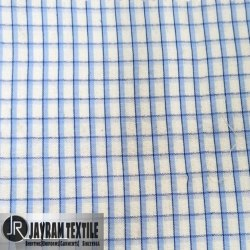 Central Government Chex UP School Uniform Fabric