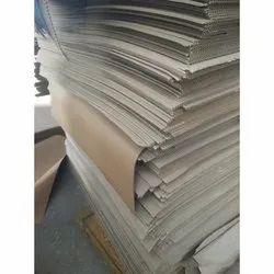Brown Plain Corrugated Box Sheet, GSM: 80 - 120
