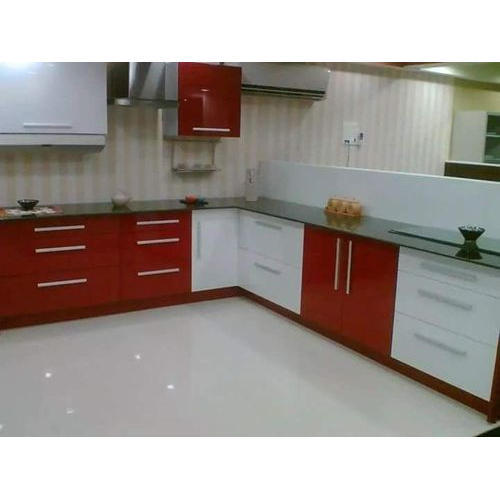Designer Modular Kitchen At Rs 360 Square Feet: Commercial Designer Modular Kitchen, Warranty: 1-5 Years