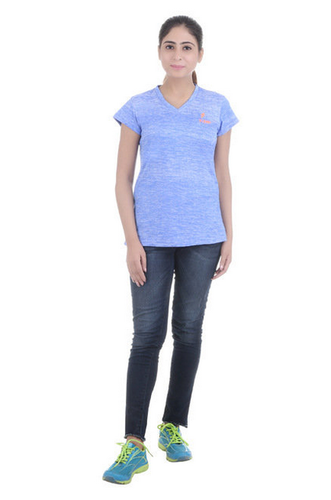 3e6cd6e5 Cotton Ladies T Shirt LT15, Size: Medium, Rs 449 /piece, Radhe Radhe ...