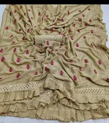 Kashmiri Silk Embroidered Sarees