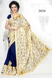 Fancy Half Butta Saree