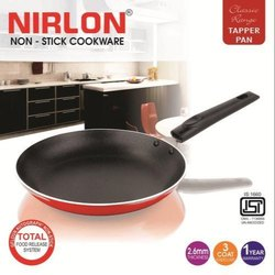 Nirlon Tapper Pan Red And Black High Grade Aluminium