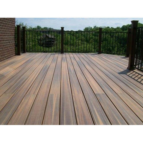 Wood Brown Rectangular Composite Decking Boards, Rs 270 /square feet | ID:  3612472255