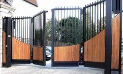 Z- GATES Swing MS DESIGNER GATE, For Residential, Thickness: 30-40 Mm