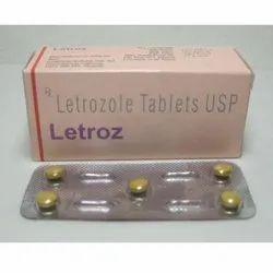 Letroz Tablet, Letrozole (2.5mg)