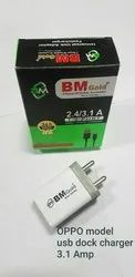 BM Gold 3.1 amp Double USB Adapter