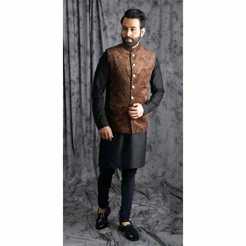 acaaae73c Designer Nehru Jacket Set