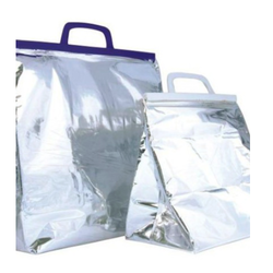 Silver Thermal Bag, Size: 10 Inch - 30 Inch