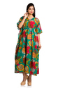 Floral Printed Long Kaftan