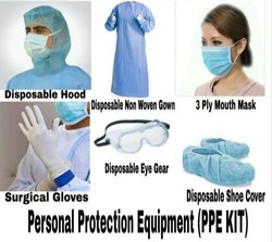 Personal Protective Equipment Kit For Corona Virus Protection (PPE Kit)