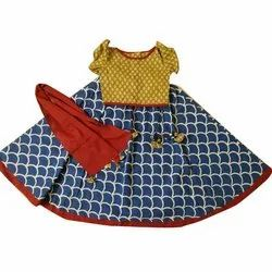 Printed Festive Wear Kids Lehenga
