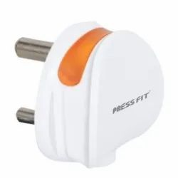 Press Fit Electrical 3 Pin Plug Top
